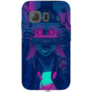 Snooky Printed 1009,Guardians of the Galaxy Awesome Mix Vol  1 Mobile Back  Cover of Samsung Galaxy Young 2 - Multi