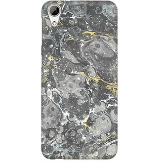 Mobicture Marble Map Premium Printed High Quality Polycarbonate Hard Back Case Cover For HTC Desire 626 With Edge To Edge Printing