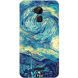 Mobicture Unique Art Premium Printed High Quality Polycarbonate Hard Back Case Cover For Coolpad Note 3 With Edge To Edge Printing