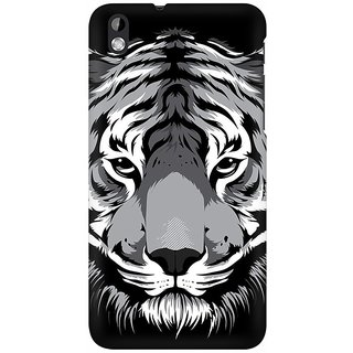 Mobicture Wild Stares Premium Printed High Quality Polycarbonate Hard Back Case Cover For HTC Desire 816 With Edge To Edge Printing