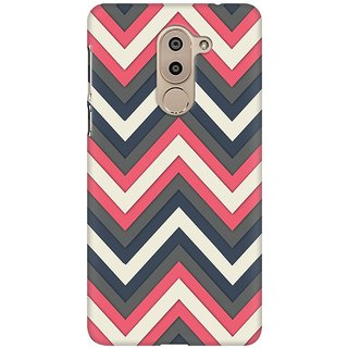 Mobicture White And Grey Premium Printed High Quality Polycarbonate Hard Back Case Cover For Huawei Honor 6X With Edge To Edge Printing