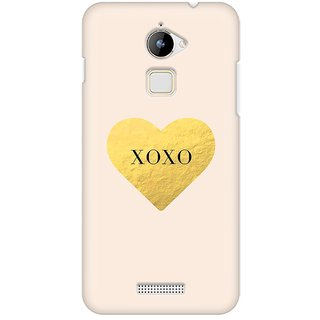 Mobicture Xoxo Premium Printed High Quality Polycarbonate Hard Back Case Cover For Coolpad Note 3 Lite With Edge To Edge Printing
