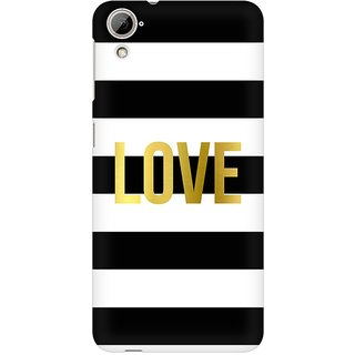 Mobicture Love Premium Printed High Quality Polycarbonate Hard Back Case Cover For HTC Desire 820 With Edge To Edge Printing