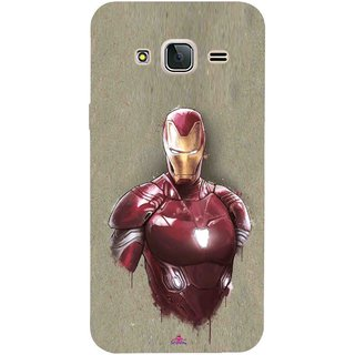 Snooky Printed 1018,Iron Man movie Mobile Back Cover of Samsung Galaxy J3 Pro - Multi