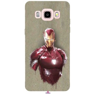 Snooky Printed 1018,Iron Man movie Mobile Back Cover of Samsung Galaxy J5 (2016) - Multi