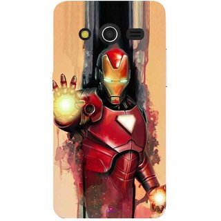 Snooky Printed 1019,Iron Man Painting Mobile Back Cover of Samsung Galaxy Core 2 - Multi
