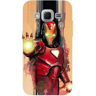 Snooky Printed 1019,Iron Man Painting Mobile Back Cover of Samsung Galaxy Core Prime - Multi