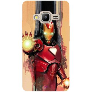 Snooky Printed 1019,Iron Man Painting Mobile Back Cover of Samsung Z2 - Multi