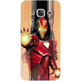 Snooky Printed 1019,Iron Man Painting Mobile Back Cover of Samsung Galaxy J3 Pro - Multi