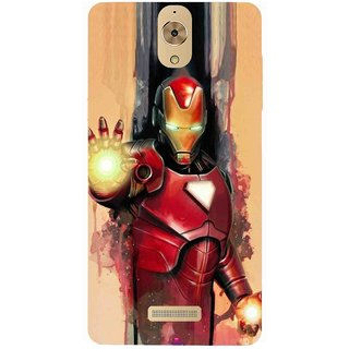 Snooky Printed 1019,Iron Man Painting Mobile Back Cover of Coolpad Mega 2.5D - Multi