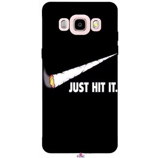 Snooky Printed 1024,Just Hit it Mobile Back Cover of Samsung Galaxy J5 (2016) - Multi