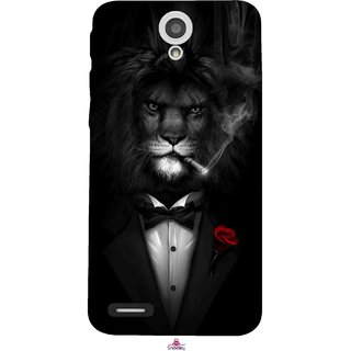 Snooky Printed 1030,liON BLACKSUIT Mobile Back Cover of InFocus M260 - Multi