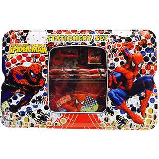 Priyankish Spider man Metal stationery Set