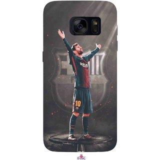 Snooky Printed 1034,Lionel Messi Fondos de pantalla Mobile Back Cover of Samsung Galaxy S7 - Multi