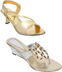 Altek Silver And Golden Colored Resin Cone,Wedges For W