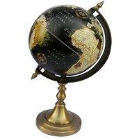 Nauticalmart Black Antique Globe