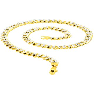 Dare by Voylla Dual Plated Textured Chain For Men From