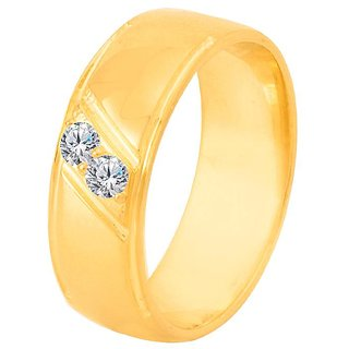 Dare by Voylla Yellow Gold Plated Decent Ring