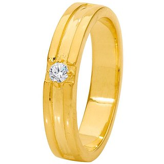 Dare by Voylla Stunning Decent Gold Plated Band Ring