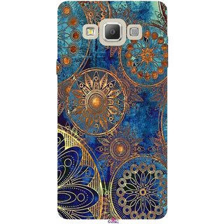 Snooky Printed 1049,mandala Mobile Back Cover of Samsung Galaxy A7 - Multi