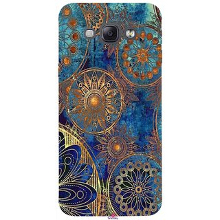 Snooky Printed 1049,mandala Mobile Back Cover of Samsung Galaxy A8 - Multi