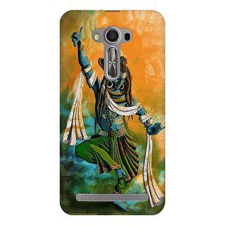 Mobicture Lord Shiva Painting Art Work Premium Printed High Quality Polycarbonate Hard Back Case Cover For Asus Zenfone 2 Laser ZE550KL With Edge To Edge Printing