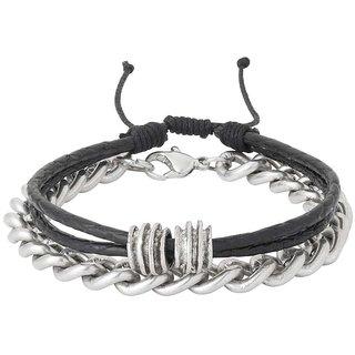 Dare By Voylla Set Of 2 Biker Bracelets