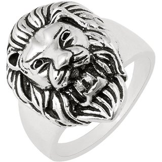 Dare by Voylla Lion Designer Ring For Men From