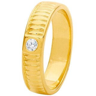 Dare by Voylla Decent Band Ring Graced with CZ