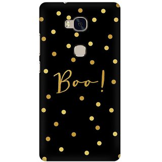 Mobicture Boo Premium Printed High Quality Polycarbonate Hard Back Case Cover For Huawei Honor 5X With Edge To Edge Printing