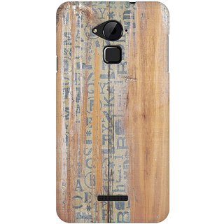 Mobicture Quirky Vintage Wood Premium Printed High Quality Polycarbonate Hard Back Case Cover For Coolpad Note 3 With Edge To Edge Printing