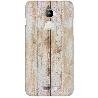 Mobicture Quirky Vintage Wood Premium Printed High Quality Polycarbonate Hard Back Case Cover For Coolpad Note 3 Lite With Edge To Edge Printing