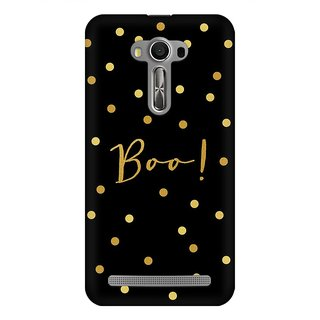 Mobicture Boo Premium Printed High Quality Polycarbonate Hard Back Case Cover For Asus Zenfone 2 Laser ZE550KL With Edge To Edge Printing