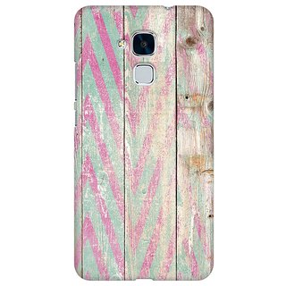 Mobicture Quirky Vintage Wood Premium Printed High Quality Polycarbonate Hard Back Case Cover For Huawei Honor 5c With Edge To Edge Printing
