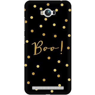 Mobicture Boo Premium Printed High Quality Polycarbonate Hard Back Case Cover For Asus Zenfone Max With Edge To Edge Printing