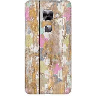 Mobicture Quirky Vintage Wood Premium Printed High Quality Polycarbonate Hard Back Case Cover For LeEco Le 2 With Edge To Edge Printing