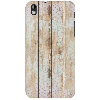 Mobicture Quirky Vintage Wood Premium Printed High Quality Polycarbonate Hard Back Case Cover For HTC Desire 816 With Edge To Edge Printing
