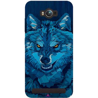 Snooky Printed 1089,southside festival wolf Mobile Back Cover of Asus Zenfone Max - Multi