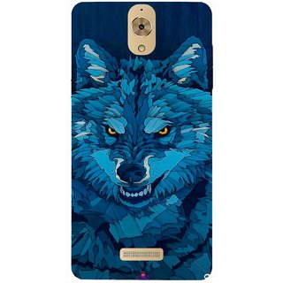 Snooky Printed 1089,southside festival wolf Mobile Back Cover of Coolpad Mega 2.5D - Multi
