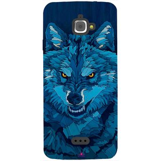 Snooky Printed 1089,southside festival wolf Mobile Back Cover of InFocus M350 - Multi