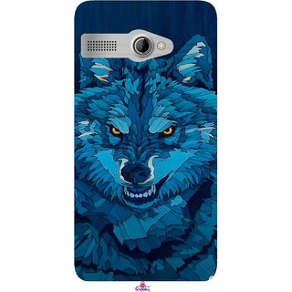 Snooky Printed 1089,southside festival wolf Mobile Back Cover of Intex Aqua 3G Pro - Multi
