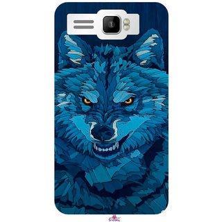 Snooky Printed 1089,southside festival wolf Mobile Back Cover of Intex Aqua R3 Plus - Multi