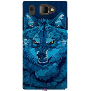 Snooky Printed 1089,southside festival wolf Mobile Back Cover of Panasonic P66 Mega - Multi