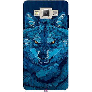 Snooky Printed 1089,southside festival wolf Mobile Back Cover of Samsung Galaxy A5 - Multi