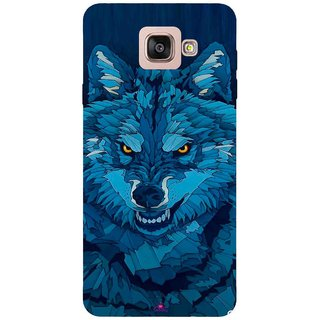 Snooky Printed 1089,southside festival wolf Mobile Back Cover of Samsung Galaxy A7 2016 - Multi