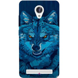 Snooky Printed 1089,southside festival wolf Mobile Back Cover of Lava Iris Fuel F1 - Multi