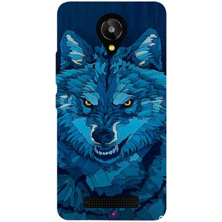 Snooky Printed 1089,southside festival wolf Mobile Back Cover of Lava Iris X1 Selfie - Multi