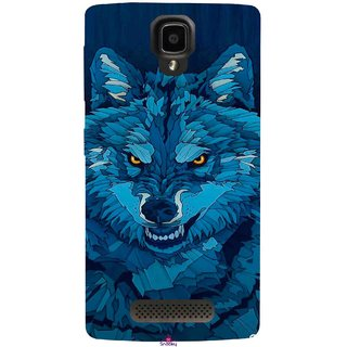 Snooky Printed 1089,southside festival wolf Mobile Back Cover of Lenovo A1000 - Multi