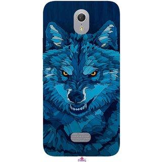 Snooky Printed 1089,southside festival wolf Mobile Back Cover of Lenovo Zuk Z1 - Multi