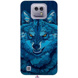 Snooky Printed 1089,southside festival wolf Mobile Back Cover of LG X cam - Multi